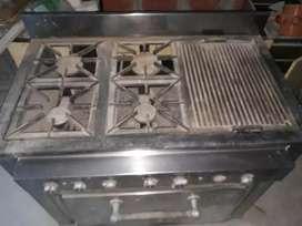 Vendo cocina industrial excelente estado