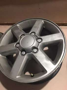 "Rines"" para camioneta BT50, Dmax, Toyota fortuner y otras mas"
