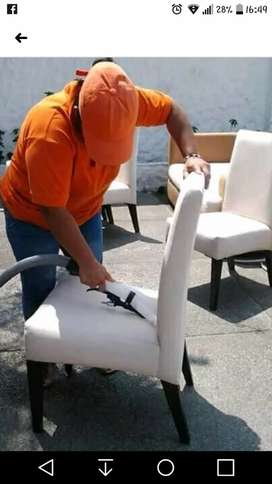 Limpieza con los mejores químicos, lavado de muebles, sillas, colchón, etc.
