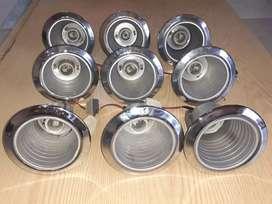 Portalamparas de aluminio