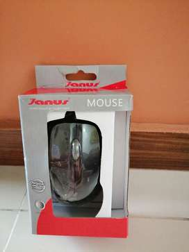Mouse optical Janus ergonómico