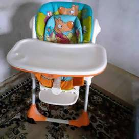 silla de comer chicco linea polly 3 posiciones plegable