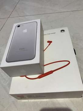 Apple 7 de 32 gb + Huawei freeLace