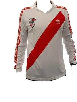 Camiseta River Plate Originals Manga Larga Original