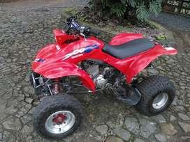 Cuatrimoto Honda 300EX, mod 1995, optimas condiciones, carenaje ok, llantas media vida, certificado de importación