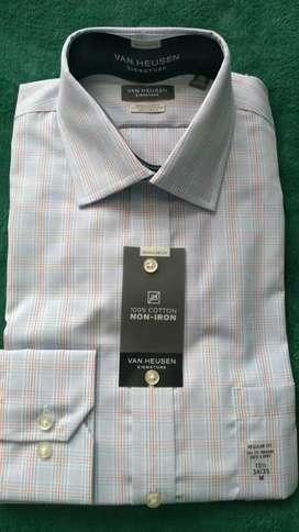 Vendo camisa van heusen nueva original talla m