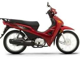 Honda Wave 110 0 KM Full Solo Con Dni