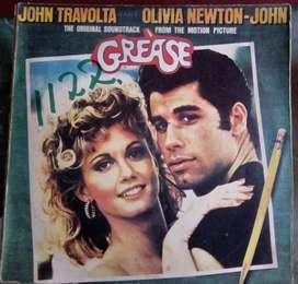 2 LP GREASE John Travolta Olivia Newton-John