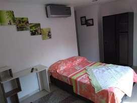 Apartaestudio tipo Habitación independiente Amoblada