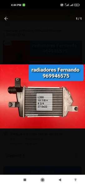 Radiadores, condensadores , ventiladores y interculer nuevos