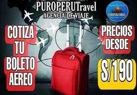 Viaja por todo Perú