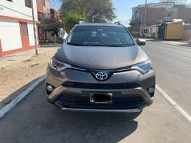 Vendo Toyota Rav4 2018 impecable