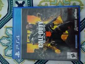 Se vende juego call of duty 4 para Playstation 4