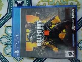 Se vende juego call of duty 4 para Playstation 4