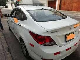 Vendo mi auto hyundai accent sedan 1.4 con Gnv. Mecanico