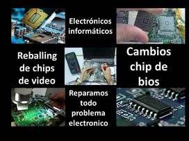 Servicio tecnico electronico de computadoras y laptop