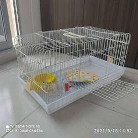 Combo jaula y kit para conejo