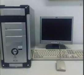 Computador de Escritorio Dual Core AMD