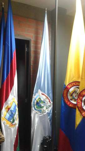BANDERAS COLOMBIA CALI VALLE DEL CAUCA POLICIA