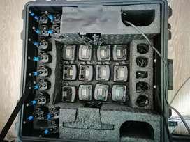 Kit de 12 radios motorola EP150