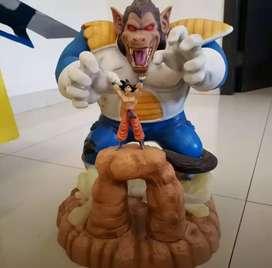 Dragon Ball Vegeta Ozaru Vs Goku Raro