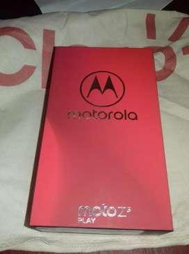 Moto z3 play nuevo