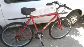 Bicicleta rod 26 de 18 cambios