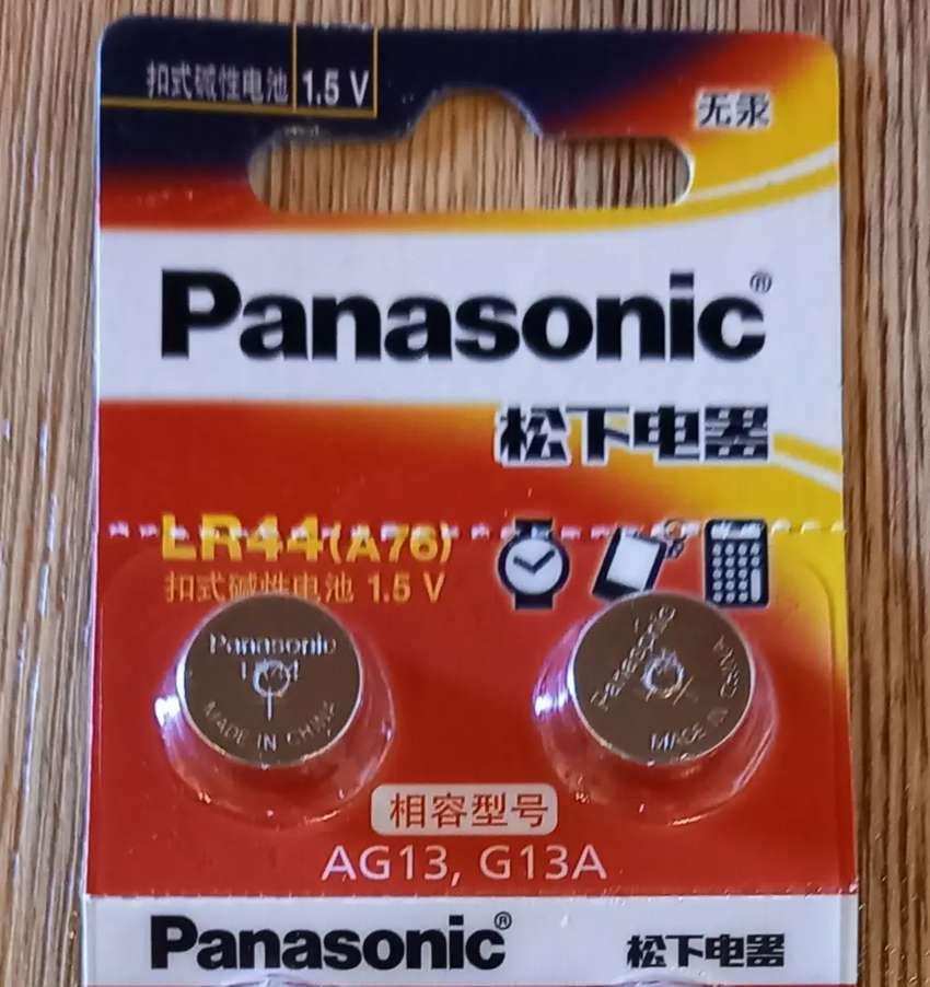 Baterias lr44 marca Panasonic original es Made in japan x5 unidades. La unidad vale 4mil pesos