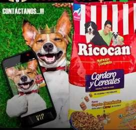 Ricocan cordero alimento para perros premiun