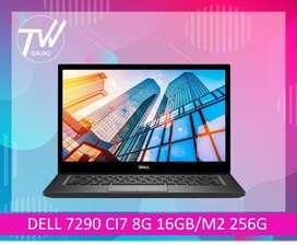 DELL 7290 CI7 8G 16GB/ 256G