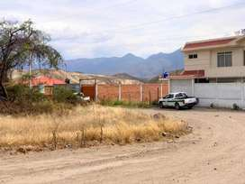 Venta de lote urbano en Catamayo-Loja