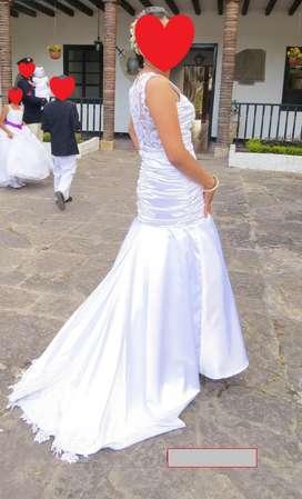 Hermoso Vestido de Novia Exclusivo
