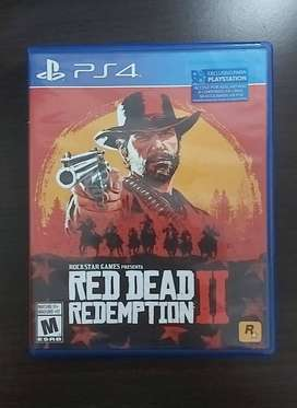 Vendo Red Dead Redemption 2 Para play 4
