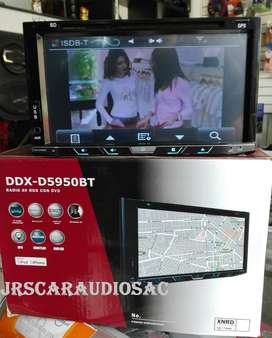 RADIO DDX-D5950BT, CON TV DIGITAL GPS Y BT A 650 SOLES