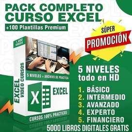 Excel Basico- Intermedio- Avanzado y financiero