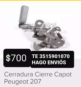 CIERRE CAPOT PEUGEOT 207