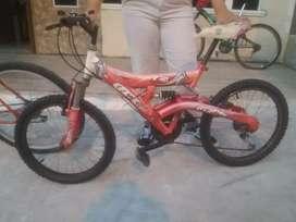 Vendo $65 bicicleta aro 20