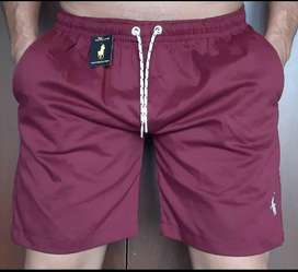Bermudas short polo