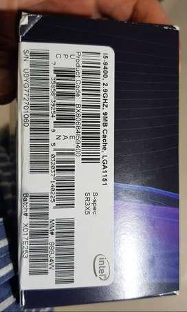 Procesador Intel Core I5-9400 6 Núcleos 4.10GHz Caja Abierta