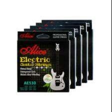 Cuerdas marca ALICE para guitarra eléctrica