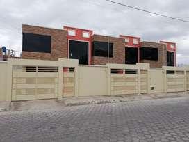 Vendo casa nueva por estrenar en el sector del Parque Ecológico