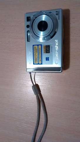 Cámara de fotos Sony digital