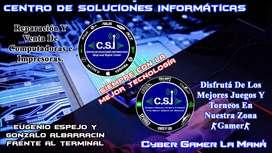 Servicio Tecnico y Cyber Gamer