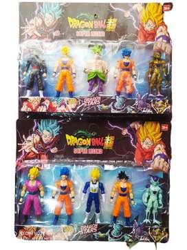 Set De Figuras Dragon Ball Super