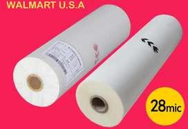 Rollo Para Plastificar Bopp Mate O Glossy De 45 cms de ancho-500 mts.