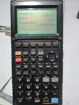 Calculadora graficadora Casio fx 9890 color matrices financiera graficadora manchita
