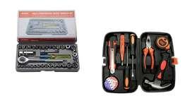 Combo juegos de raches y caja de herramientas envios a nivel nacional.