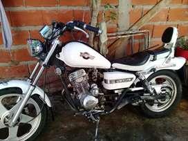 Moto Guerrero gmx150