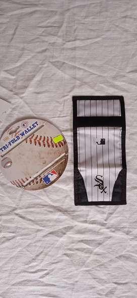 Billetera beisbol mlb sox