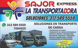 ACARREOS - TRANSPORTE DE CARGA MUDANZAS REFRIGERADOS Y  DISTRIBUCIO